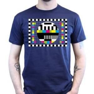 "Sheldons Testbild T-Shirt aus ""The Big Bang Theory"""