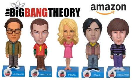 The Big Bang Theory Bobble Head Figuren