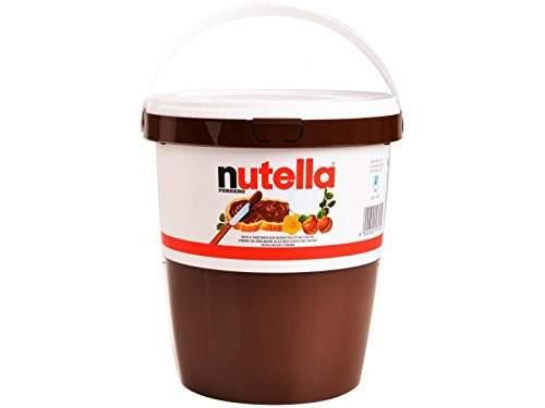 Ein Eimer voll Nutella