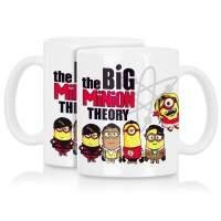 The Big Minion Theory Becher Tasse