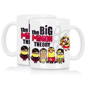 The Big Minion Theory Becher Tasse